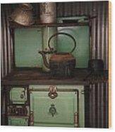 Crown Cooker  Wood Print