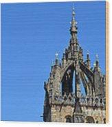 Crown Steeple  Wood Print