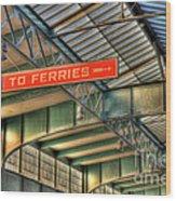 Crrnj Terminal Iv Wood Print