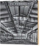 Crrnj Terminal V Wood Print