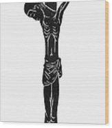 Crucifixion Of Christ Wood Print