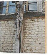 Crucifixion Of Kortrijk Wood Print