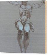 Crucifixion Wood Print by Valeriy Mavlo