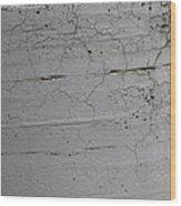 Crumbling Concrete Wood Print