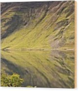 Crummock Water Wood Print