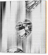 Crystal Abstract  Wood Print