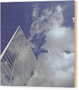 Crystal Cathedral 2 Wood Print