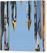 Crystal Cathedral Tower Points Wood Print