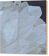 Crystal Cluster Wood Print