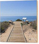 Crystal Cove State Park Ocean Overlook Wood Print