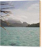 Crystal Island Bora Bora Wood Print