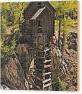 Crystal Mill 6 Wood Print