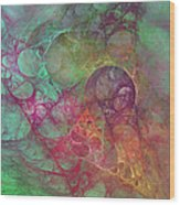 Crystal Ocean Wood Print