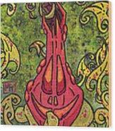 Cucurbita Wood Print