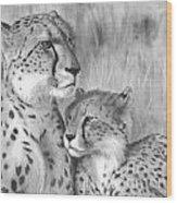 Cuddle Wood Print