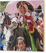 Cuenca Kids 103 Wood Print