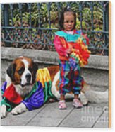 Cuenca Kids 124 Wood Print