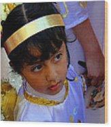 Cuenca Kids 189 Wood Print