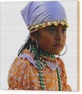 Cuenca Kids 199 Wood Print