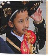 Cuenca Kids 28 Wood Print