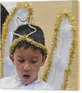Cuenca Kids 34 Wood Print