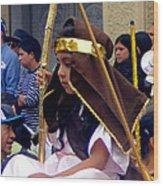 Cuenca Kids 39 Wood Print