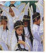Cuenca Kids 42 Wood Print