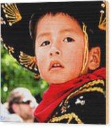 Cuenca Kids 64 Wood Print