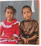 Cuenca Kids 76 Wood Print