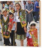 Cuenca Kids 80 Wood Print