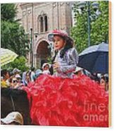 Cuenca Kids 84 Wood Print