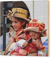 Cuenca Kids 88 Wood Print
