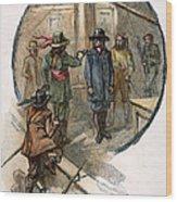 Culpepers Rebellion, 1677 Wood Print