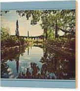 Cummer Pond Zen Wood Print