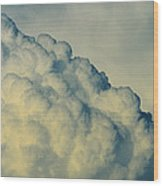 Cumulonimbus Clouds Wood Print