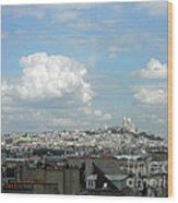 Cumulus Wood Print