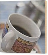Cup Of Coffee Wood Print by David DuChemin