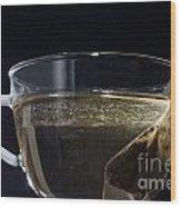 Cup Of Tea Wood Print