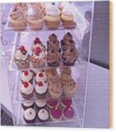 Cupcake Anyone Wood Print