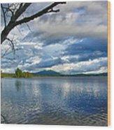 Cupsuptic Lake Wood Print