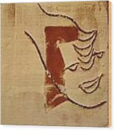 Curiousity - Tile Wood Print
