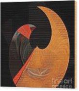 Curlicue 01 Wood Print