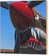 Curtiss P-40n-5 Kittyhawk Wood Print