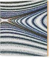 Curve Art Wood Print