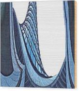 Curves - Archifou 42 Wood Print