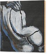 Curves20 - Female Nude Wood Print