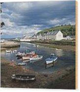 Cushendun, Co. Antrim, Ireland Wood Print