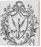 Custis: Coat Of Arms Wood Print