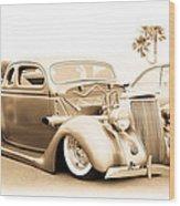 Custom 1936 Ford Wood Print