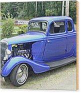 Custom 34 Ford Wood Print